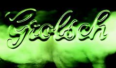 Grolsch beer bottle (HansHolt) Tags: grolsch beer pils bier brand logo relief bottle glass reflection reflectie green dof bokeh macro canon 6d 100mm canoneos6d canonef100mmf28macrousm macromondays brandandlogos hmm