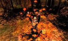 """ Autumn... The Year's Last, Lovliest Smile "" (maka_kagesl) Tags: secondlife sl second life game gaming games virtual videogame videogames avatar avi autumn forest woods leaves leaf leafes leafs photography portrait photo picture pose pic posing"