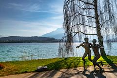 Luzern/Schweiz 21. März 2019 (karlheinz klingbeil) Tags: sculpture suisse skulptur art kunst statue schweiz see lago switzerland stadt wasser lake water city luzern