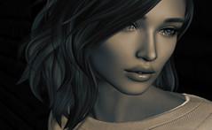 "Beauty & Terror (Tina Destiny) Tags: fuel pink second life avatar female beauty sexy hot girl brunette catwa secondlife virtual belleza mesh firestorm viewer truth ""pink fuel"" digital art render 3d model"