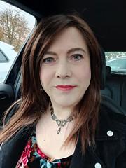 All By My Self(ie) (Joanne (Hay Llamas!)) Tags: transgender transwoman tg brunette tgirl cute uk brit british britgirl casual