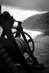 Old winch at Bucks Mills Devon (Livesurfcams) Tags: bucksmills winch fisherman devon fuji fujifilmm 35mmf14
