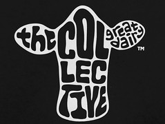 The Collective (Charos Pix) Tags: macromondays brandandlogos thecollective yoghurt dairyproduct greatdairy recycling trademark logo symbol emblem logotype plastic bw infrared blackandwhite