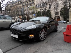 Aston Martin Vanquish S (Monde-Auto Passion Photos) Tags: voiture vehicule auto automobile cars astonmartin aston martin vanquish coupé noir black sportive rare rareté france paris