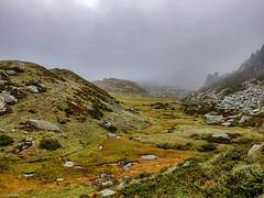 Trek color pastel (valentinlelong) Tags: fog mountain pyrénées moutain montagne trek trekking solo ambiance hikking