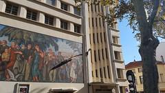 Lyon - Bourse du Travail (larsen Detdl) Tags: lyon boursedutravail placeguichard france rhône mosaïquemonumentale artdéco classémh1989 mh monumenthistorique classémh charlesmeysson
