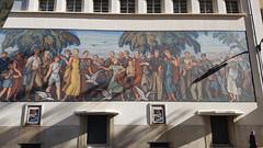 Lyon - Bourse du Travail 6 aRT6d2CO (larsen Detdl) Tags: lyon boursedutravail placeguichard france rhône mosaïquemonumentale artdéco classémh1989 mh monumenthistorique classémh charlesmeysson