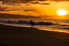 Surf and Sunset (Errol_S) Tags: haleiwa pupukea surf oahu hawaii northshore sunset winterbigwaveseason cumulonimbus