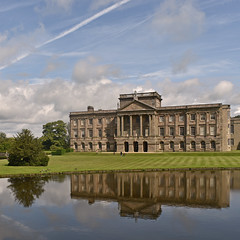 UK - Cheshire - Lyme Park (Harshil.Shah) Tags: lyme park lymepark national trust nt nationaltrust cheshire england great britain united kingdom gb uk peak district peakdistrict peakdistrictnationalpark listed architecture house mansion reflection garden