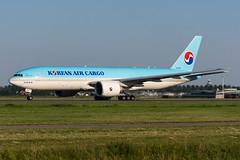 HL8005 - Korean Air Lines Cargo - Boeing 777-FB5 (5B-DUS) Tags: hl8005 korean air lines cargo boeing 777fb5 b772 b77f ams eham amsterdam schiphol airport airplane aircraft aviation flughafen flugzeug planespotting plane spotting