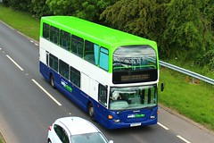 Notts & Derby, Scania N94 Omnidekka, East Lancs, YN53CEO (NottsBus (BM71)) Tags: yn53ceo scaniaomnidekka eastlancs nottsderby nottinghamcitytransport trentbarton