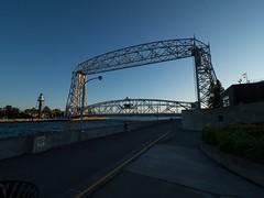P8236865 (Copy) (pandjt) Tags: minnesota travelogue roadtrip unitedstates usa duluth duluthmn canalpark aerialliftbridge duluthshipcanal