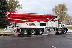 Coastal Concrete pumping Truck (raserf) Tags: coastal concrete cement truck trucks pump pumper pumping mack putzmeister murrells inlet south carolina sturtevant wisconsin racine county