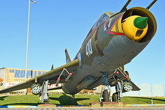 "Sukhoi Su-22M4 Fitter-K ""410 White"" (Nils Mosberg) Tags: bulgarianairforce sukhoisu22m4fitterk"