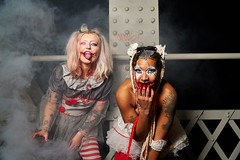 _DSC6458 (CAR TREV) Tags: sony portrait lens light red circus alpha 18105mm halloween costumes