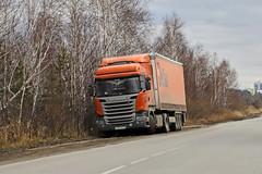 Scania R440  А 752 ОР 116 (RUS) (zauralec) Tags: курган город улица автомобиль транспорт автопоезд м kurgancity zagorodnayastreet transport company delco делко scania r440 а 752 ор 116 rus