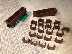 Manufacturing Eaos - 10 more to come ;) (Maciej Drwięga) Tags: lego train eaos trains