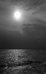 Ocean of dreams (Rosenthal Photography) Tags: dänemark asa400 epsonv800 ff135 washiz400 urlaub houvig rodinal12521°c7min 20190906analog ilfordrapidfixer rotfilter olympus35rd nordsee kleinbildformat oceanofdreams ocean dreams sea northsea sun sunshine sunset landscape seascape beach trand coast denmark summer august mood light blackandwhite clouds mist fog olympus olympus35 35rd fzuiko zuiko 40mm f17 washi filmwashi washiz rodinal ilford rapid fixer epson v800