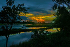_DSC3610-as-Smart-Object-1a (Abhijit Clicks) Tags: sunset bengal sky clouds