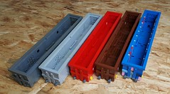 The all-inclusive Eanos consist is GO! (raised) Tags: lego eanos 8wide 145 train wagon goods