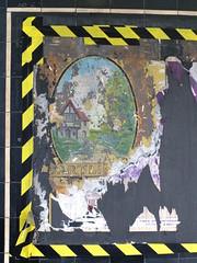 Torn Image (failing_angel) Tags: 180519 london piccadillylinetour londonboroughofenfield charlesholden southgate undergroundstation adamsholdenandpearson londonpassengertransportboard frankpick