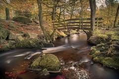 My Happy Place (unciepaul) Tags: padley gorge peak district autumn bridge water burbage brook longexposure lightroom