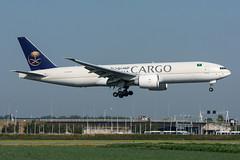 HZ-AK73 - Saudi Arabian Airlines Cargo - Boeing 777-FFG (5B-DUS) Tags: hzak73 saudi arabian airlines cargo boeing 777ffg b772 b77f ams eham amsterdam schiphol airport airplane aircraft aviation flughafen flugzeug planespotting plane spotting