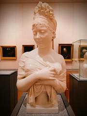 Buste de Juliette Récamier par Joseph Chinard, marbre, 1805. (PILI*PILI) Tags: femme belle sein beaux arts beauxarts lyon sculpture jolie buste musée museum