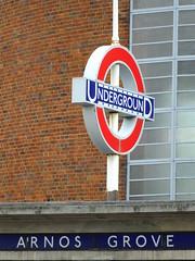 Roundel (failing_angel) Tags: 180519 london piccadillylinetour londonboroughofenfield arnosgrove charlesholden adamsholdenandpearson charleshutton frankpick