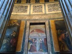 Italy - Rome - Pantheon - Decoration (JulesFoto) Tags: italy rome roma patheon church interior