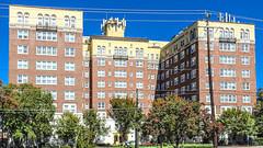 Historic Briarcliff Summit Aparments (swampzoid) Tags: historic apartments hotel atlanta famous architecture old brick building biarcliff summit poncedeleon ave