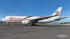 AeroUnion B767 XA-LRC (aleks_cal) Tags: aerounion cargo mexico sanjose costarica airport boeing b767 boeing767 heavy takeoff ramp 2018 airplane plane
