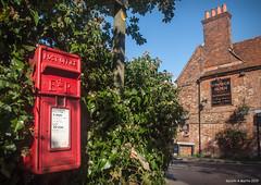 "Gareth's Photo of the Week 43 ""Village Postbox"""