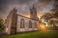 Divine Light (dmoon1) Tags: fujifilmxt2 tara sunset church