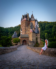 The princess of Eltz Castle (dannygreyton) Tags: eltzcastle germany castle wife fujifilm fujinon1024mm fujifilmxseries europe buildings building architecture travel woman blonde people eltz deutschland mosel girl