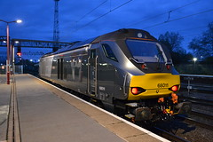 DRS / Chiltern 68011 (Will Swain) Tags: crewe station 5th october 2019 cheshire north west south county train trains rail railway railways transport travel uk britain vehicle vehicles england english europe transportation class drs chiltern 68011 68 011 11