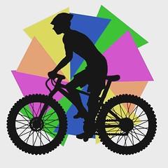Logo Design for charity bike ride Tshirts. (www.ruffrootcreative.com) Tags: adobe digitalillustration ruffrootdesign ruffrootcreative bournemouth boscombe idiotthewise markcummins artistdorset dorset