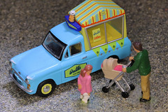Anyone for ice-cream?     IMG_0421 (alisonhalliday) Tags: icecream van miniaturevehicle modelvehicle littlepeople macro closeup canoneosrp sigma105mm diecastvehicle multicoloured clichesaturday hcs blue cmwdblue cmwd colorfulworld