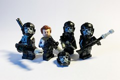 Special Forces: Reaper Squad (darth85) Tags: star wars swlego lego legosw squad commando trooper stormtrooper unit imperial empire pilot griff skull skeleton death special forces minifigure minifig figbarf