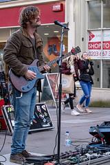 Singin Blues (velodenz) Tags: velodenz fujifilmxt30 bath city aquaesulis banes bnes england unitedkingdom uk greatbritain gb street singer performer electricguitar blues player guitarrist