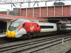 A Virgin Trains Class 390 'Pendolino' unit, Crewe (Steve Hobson) Tags: virgin trains crewe 390 pendolino