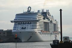 MSC Meraviglia (jelpics) Tags: anthemoftheseas mscmeraviglia lechamplain msc royalcaribbean boat bos boston bostonharbor bostonma harbor massachusetts ocean port sea ship vessel massport