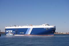 DSC_00040001 (jelpics) Tags: eridanusleader nykline carcarrier roro cargoship commercialship commoncarrier merchantship boat bos boston bostonharbor bostonma harbor massachusetts ocean port sea ship vessel massport