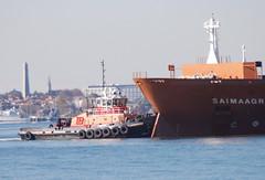 Freedom (jelpics) Tags: freedom tug tugboats saimaagracht cargoship commercialship commoncarrier merchantship boat bos boston bostonharbor bostonma harbor massachusetts ocean port sea ship vessel massport