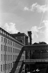000100010021_14_Nik_DxO (Douglas Jarvis) Tags: film ilford hp5 analogue architecture nikon l35af mono dean clough building mill yorkshire