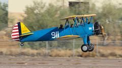 Boeing Stearman PT-13D Kaydet 42-17506 N261PD '911' (ChrisK48) Tags: n261pd 911 e75 boeingstearmanpt13d cn755669 usaaf4217506 airplane aircraft dvt phoenixaz kdvt phoenixdeervalleyairport