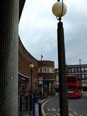 Curve of a Parade (failing_angel) Tags: 180519 london piccadillylinetour londonboroughofenfield charlesholden southgate undergroundstation adamsholdenandpearson londonpassengertransportboard frankpick