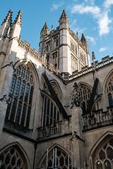 Bath Abbey (velodenz) Tags: velodenz fujifilmxt30 bath city aquaesulis banes bnes england unitedkingdom uk greatbritain gb