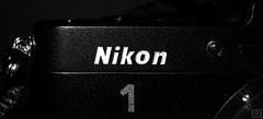 MM -Nikon 1- (MAICN) Tags: brand nikon mono sw makro bw brandandlogos blackwhite monochrome marke macromonday schwarzweis logo nahaufnahme macro einfarbig 2019 macromondays mm