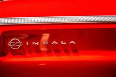 All of the Beautiful Colors are Very Meaningful (Thomas Hawk) Tags: america california chevrolet chevy flickrphotowalk impala kingofthestreets mission missiondistrict photowalk sanfrancisco sanfranciscolowridercouncilkingofthestreet usa unitedstates unitedstatesofamerica westcoast auto automobile car emblem lowrider red fav10 fav25